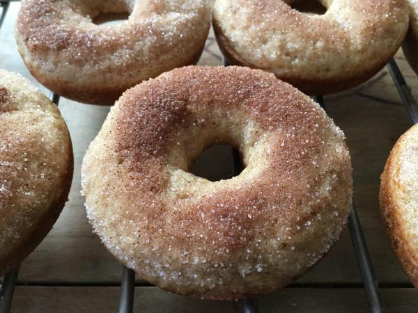 Apple Cider Donuts (Vegan, Allergen-free, Gluten-free) - Kim's Welcoming Kitchen