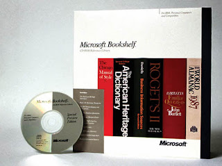 The first CD from Microsoft, Bookshelf