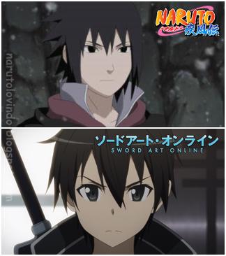 Sasuke Uchiha dan Kirigaya Kazuto