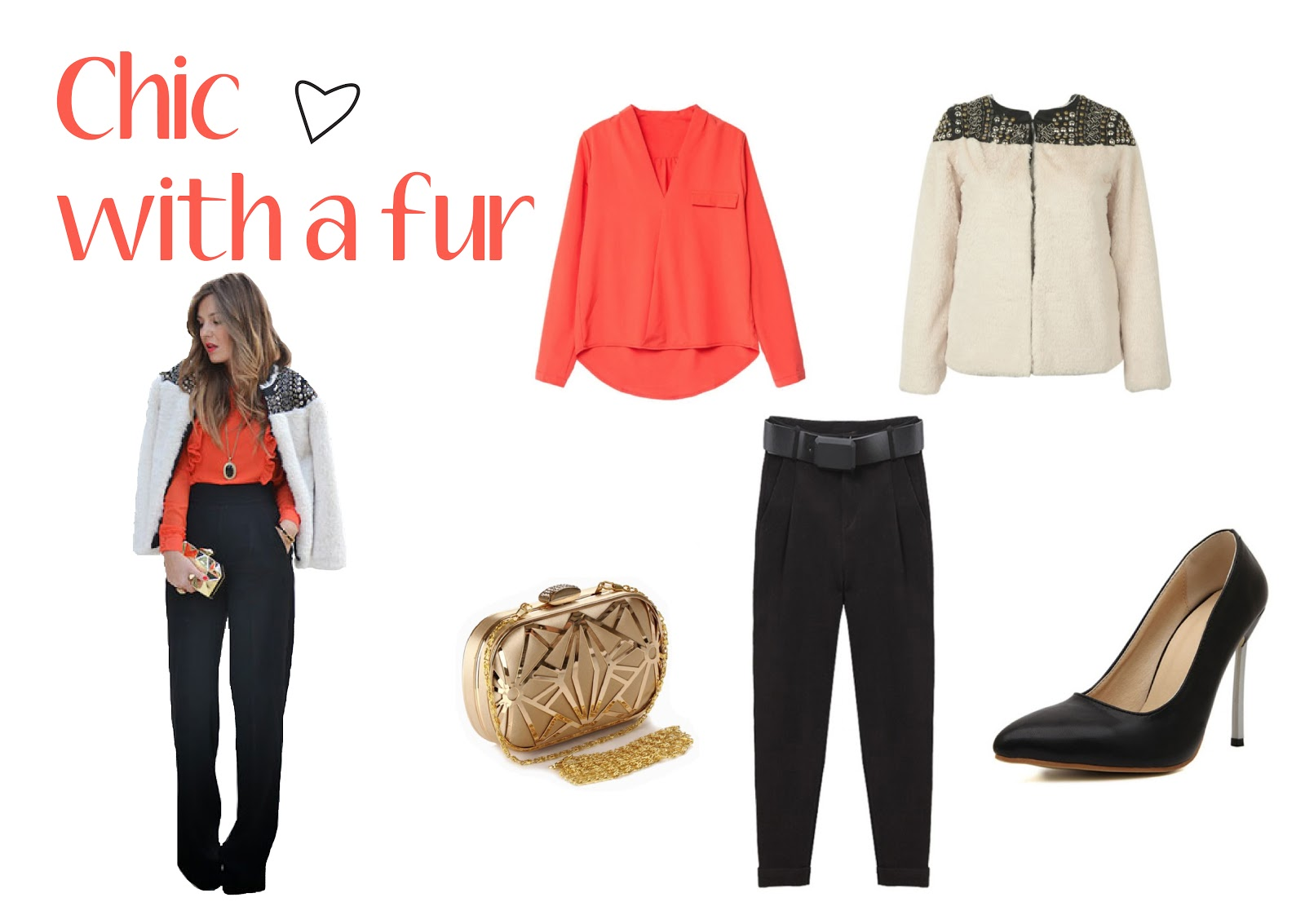 fashion blogger style look outfit trend marsala choices winter wishlist autunno inverno 2016 coat leather orange fur pelliccia