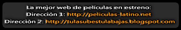 Banner tulasubestulabajas - Descarga películas en latino gratis. Brrip Dvdrip HD