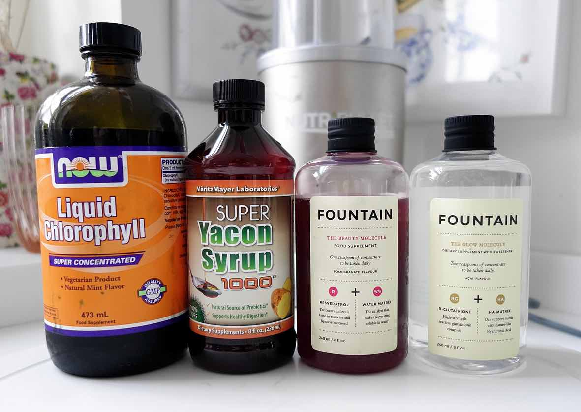 Liquid-Chlororphyll-Review-Yacon-Syrup-Review-Fountain-The-Beauty-Molecule-Review-Fountain-The-Glow-Miracle-Review