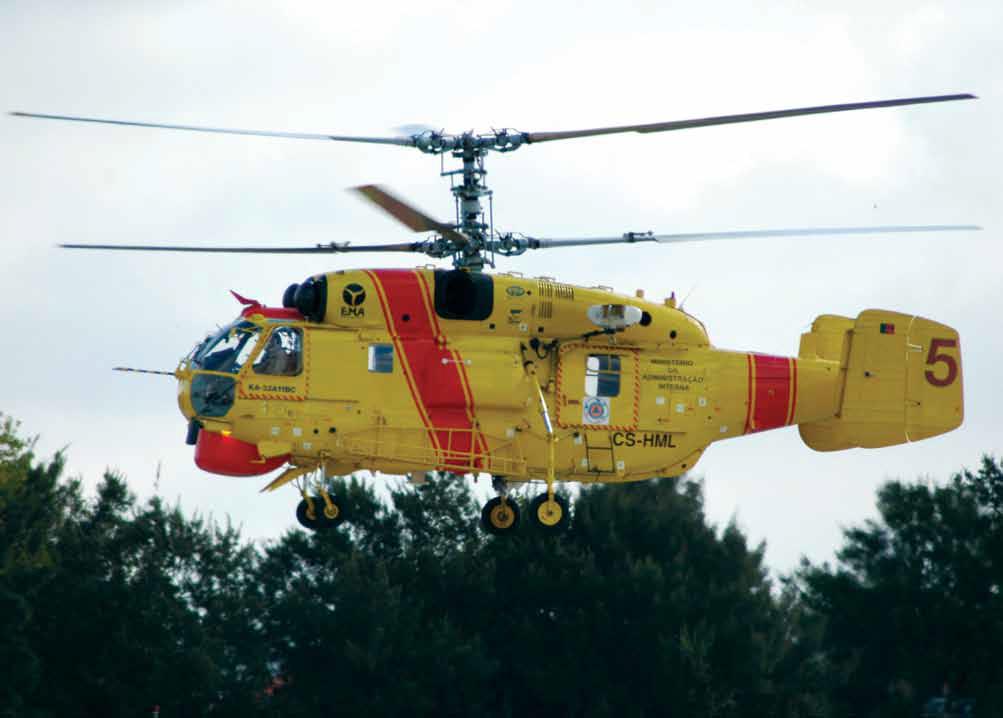 Elicottero Kamov : Corpo de bombeiros bragança julho