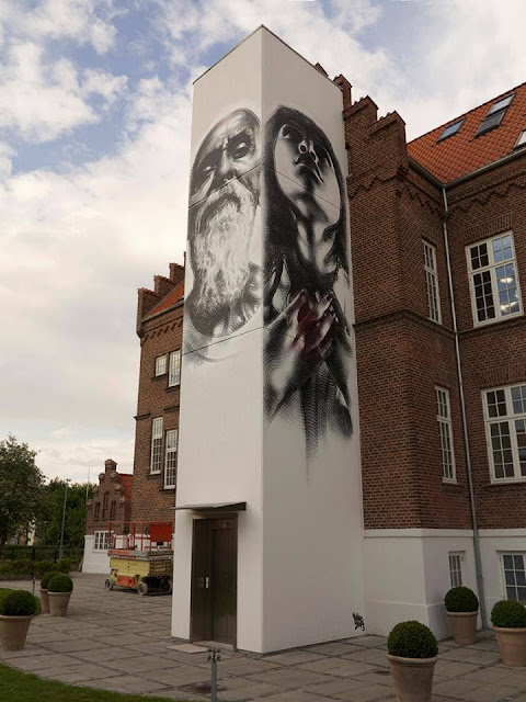 Street Art, Graffiti Art, El Mac, Denmark, Street Art in Denmark