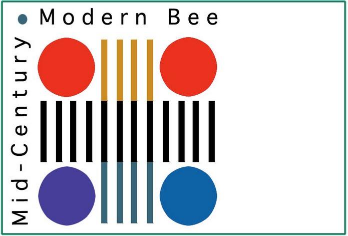 Mid Century Modern Bee