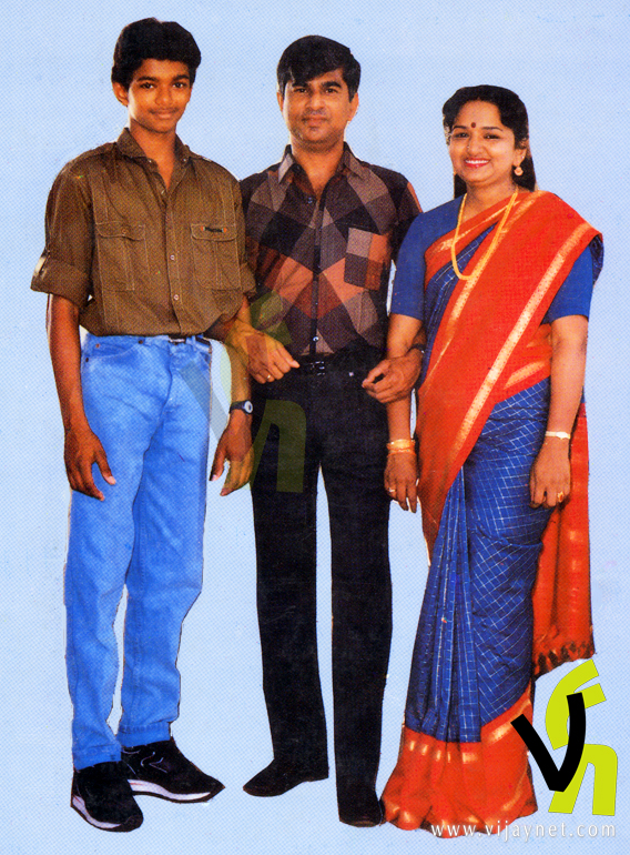 Actor Vijay Son And Daughter Photos Actor vijay son and daughter