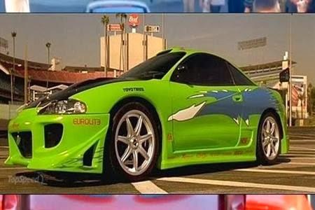 mitsubishi 3000gt fast and furious. mobil ini khusus dimodifikasi oleh fbi di film pertama the fast and furious untuk walker dalam operasinya sebagai opsir sekaligus detektif brian mitsubishi 3000gt