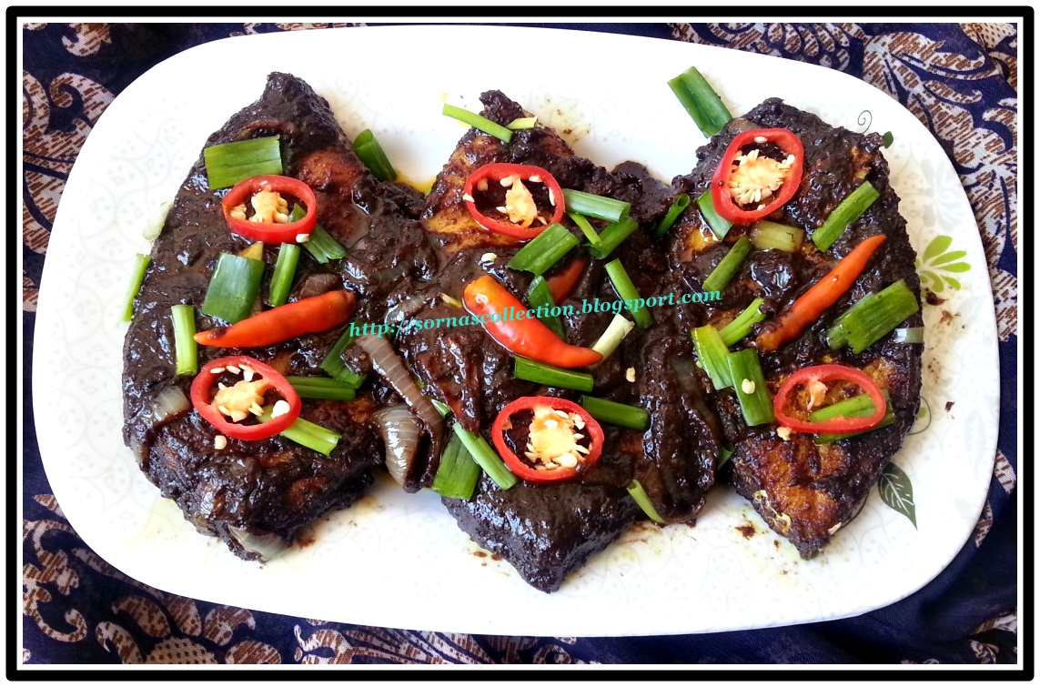 My recipes fried fish in spicy black bean sauce for Fish in black bean sauce