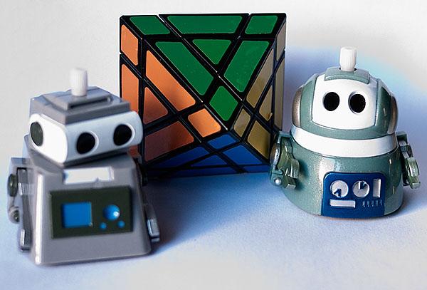 Rubik 3X3X3 Octaedro Robot