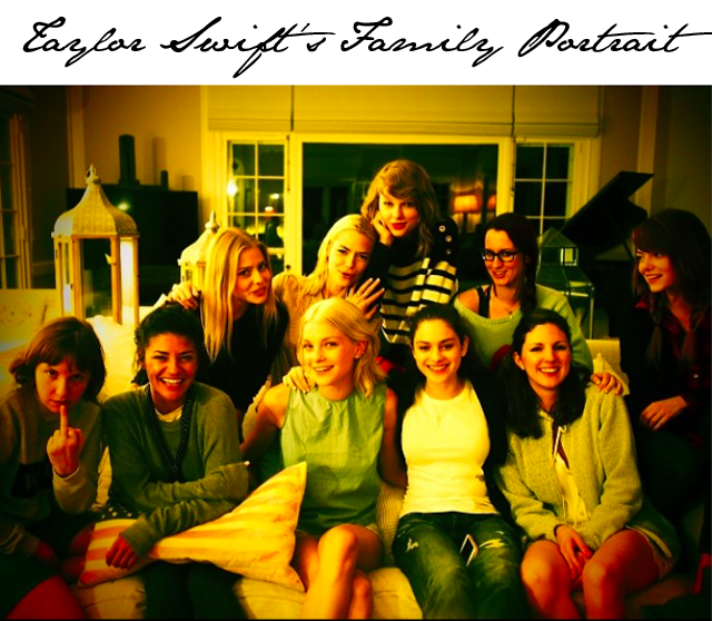 Taylor Swift Family Portrait