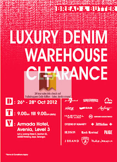 Bread & Butter Luxury Denim Warehouse Clearance 2012