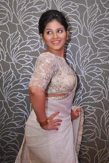 Anjali latest Glamorous pics in saree 040