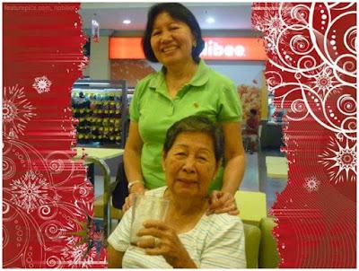 Mam Garin with her niece Lumen