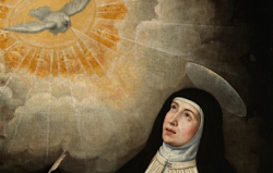 Santa Teresa de Jesús en Sevilla.