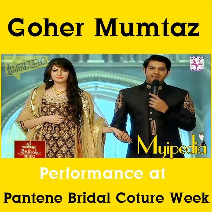 Goher Mumtaz Performance At Pantene Bridal Couture Week 2014