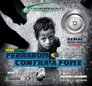 FEBRABOM RS TRABALHANDO FORTE NO COMBATE  A FOME