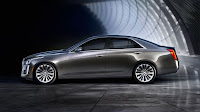 2014 Cadillac CTS Sedan side