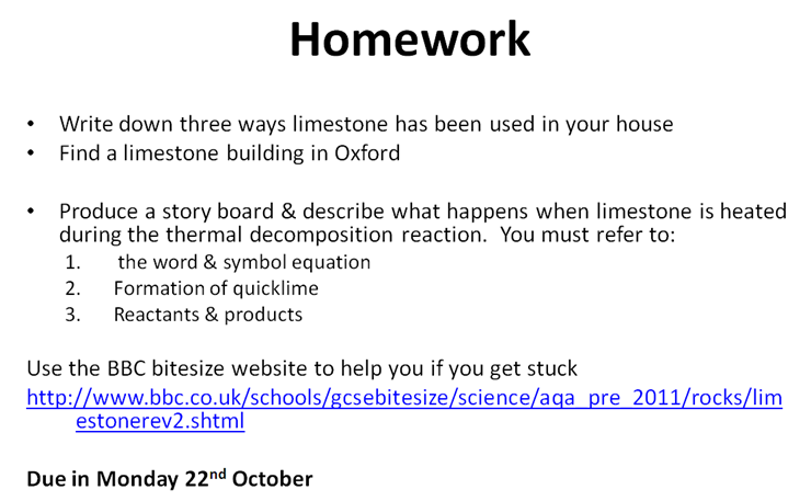 Bbc homework help science