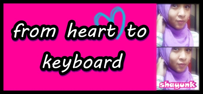 From Heart --> Keyboard