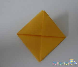 Simple way to fold a paper boat 3