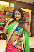 Anukruthi Glam pics in half saree-thumbnail-4