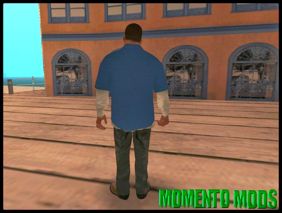GTA SA - Skin Do Franklin GTA V3.0