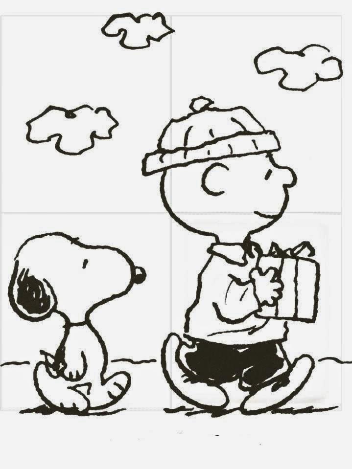 Dibujos para colorear. Maestra de Infantil y Primaria.: Snoopy para ...
