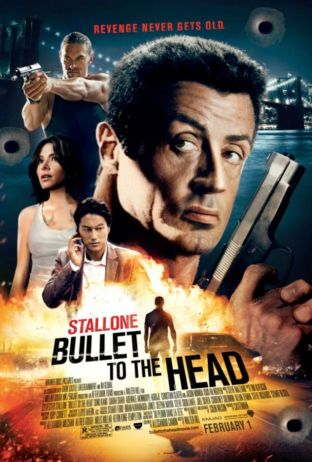 La película Bullet to the Head ( Una bala en la cabeza )