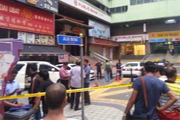 Punca Insiden Letupan Di Kompleks Sun, Jalan Bukit Bintang 9 Oktober 2014