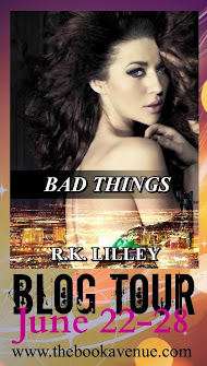 ~Bad Things Blog Tour & Giveaway~