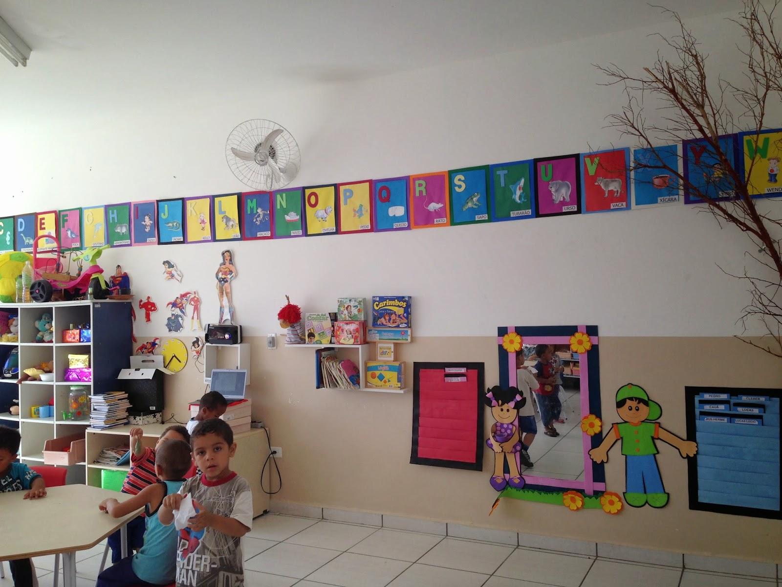 decoracao de sala maternal : A Escola Municipal Benedita Matias Gon?alves Escola ...