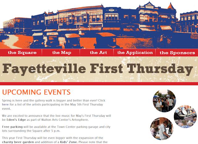 Tangled metal art show tomorrow fayetteville arkansas for Craft fair fayetteville ar