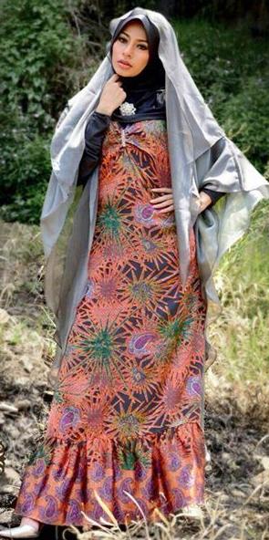 Contoh Model Kebaya Hijab Modern 2015