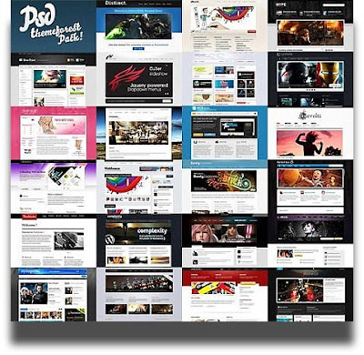 ThemeForest PSD Templates Huge Collection