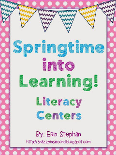 http://www.teacherspayteachers.com/Product/Spring-into-Learning-Literacy-Centers-10-Centers-222544