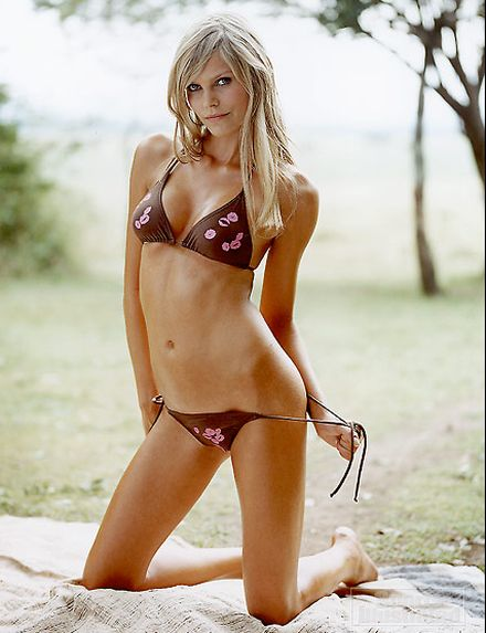 May Andersen Sexy in Bikini