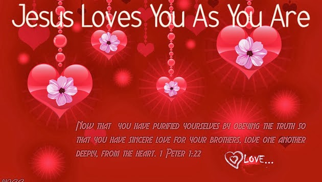 Christian valentines day facebook cover