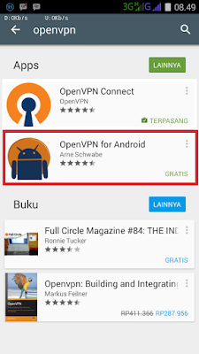 Tutorial VPN for Android