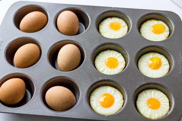 Hard Boiled Oven Eggs
