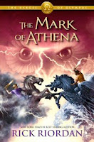 bookcover of THE MARK OF ATHENA (The Heroes of Olympus, #3) by Rick Riordan