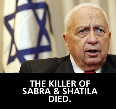 Penyembelih Beirut Akhirnya Mati (Ariel Sharon)