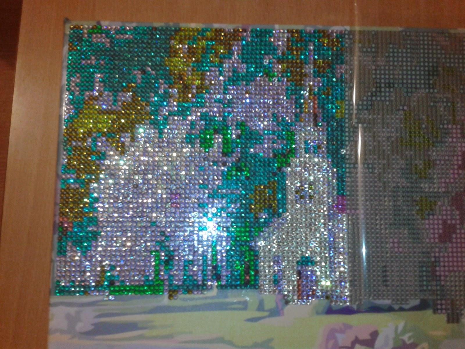 Сделать алмазную мозаику по фотографии
