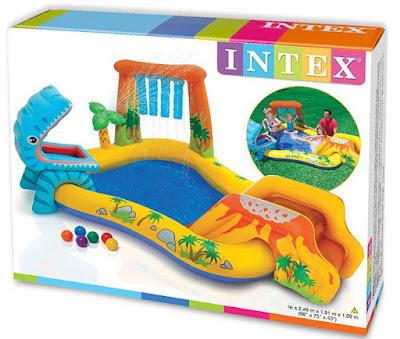 JUGUETES - Intex - Dinosaurio Hinchable - Centro de Juegos  Medidas:249 X 191 X 109 Cm | A partir de 3 años | Comprar en Amazon