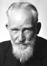 This man thinks you're all stupid and ought to be gassed.  George Bernard Shaw Irish playwright & socialist