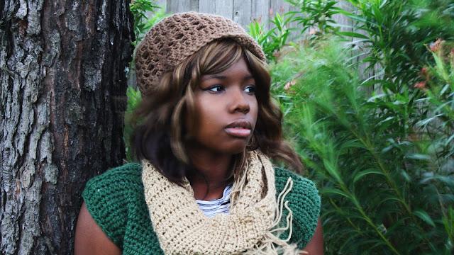 DIY: The Crochet Newsboy Inspired Hat.