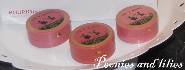 Bourjois je t'aime vintage blush, Bourjois 150 anniversary, Bourjois SS13