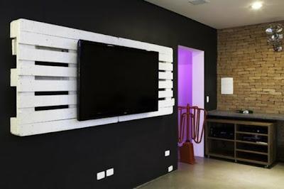 Pallet tv non ti butto - Porta decoder da parete ...