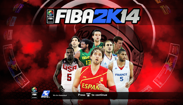 FIBA 2K14 Mod World Cup Spain