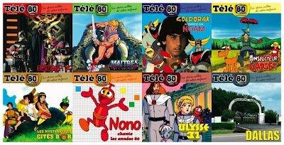 Télé 80 : les 8 premiers albums