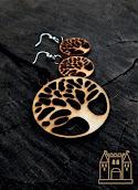 Fa ékszerek / Wooden jewels